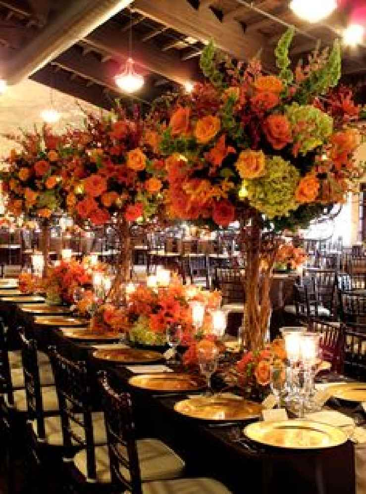 wedding ideas for fall centerpieces fall wedding centerpieces on a budget 28127