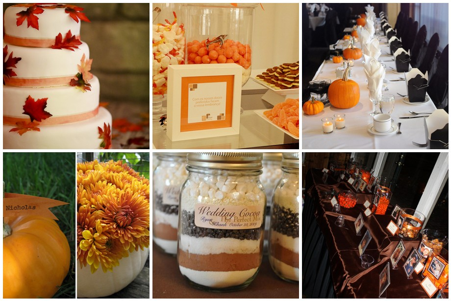 Inexpensive fall wedding centerpiece ideas easy and inexpensive fall wedding decor ideas junglespirit Gallery