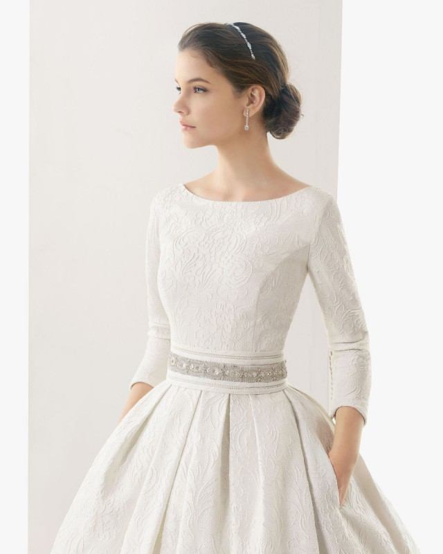 Winter Wedding Dress With Sleeves