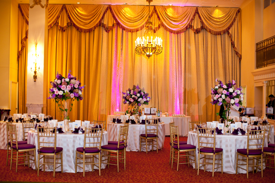 Purple and gold wedding theme image collections wedding decoration purple and gold wedding decor junglespirit Choice Image