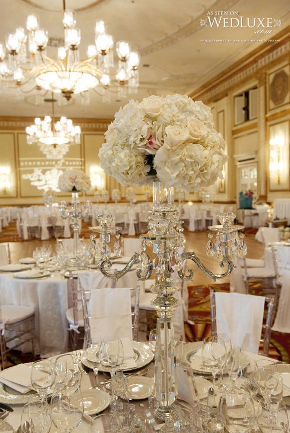 Great Gatsby Wedding Centerpieces