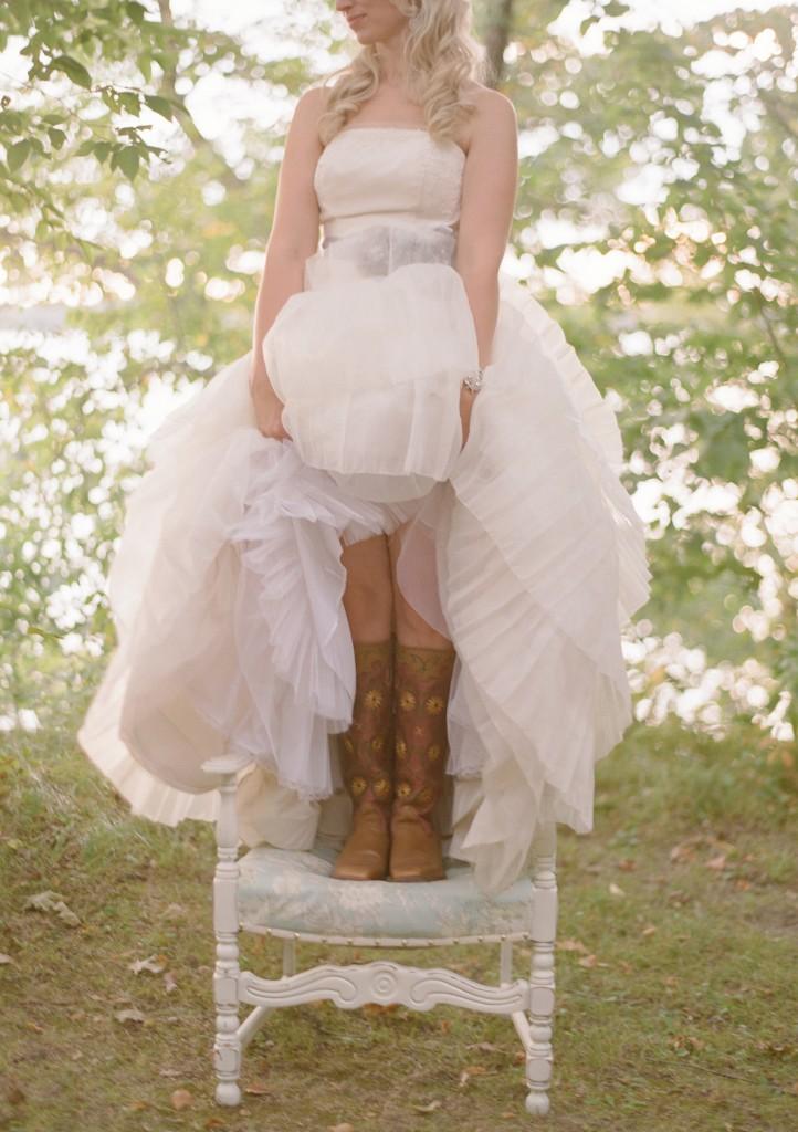 Wedding Dress Boots