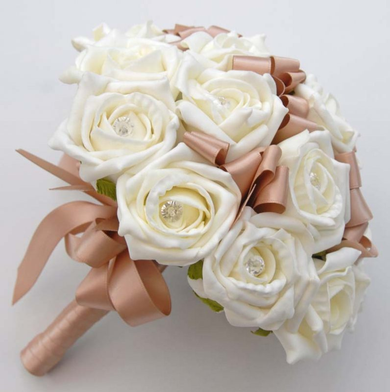 Ribbon Wedding Bouquet