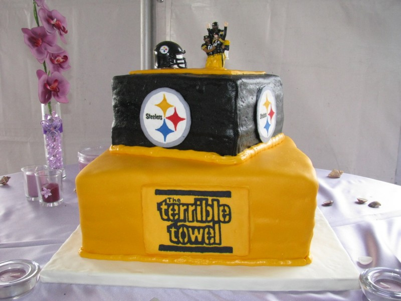 wedding cakes pittsburgh pittsburgh steelers wedding 25287