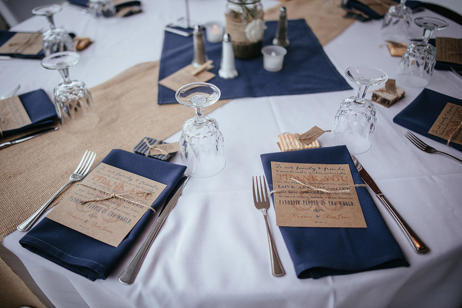 Navy Burlap Wedding On Emcraft Org High Country Orchard Lisa Connor
