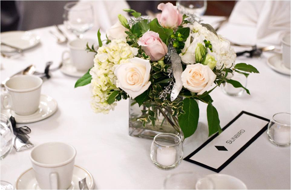 Low Wedding Table Centerpieces House Of Flowers