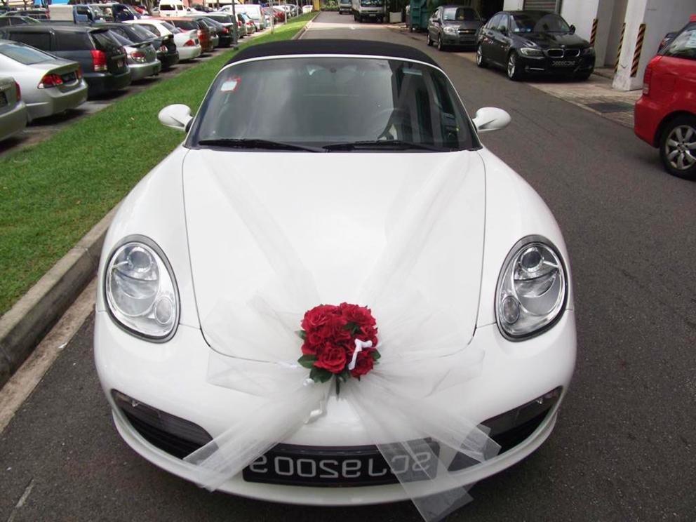 Wedding Car Decorations : Wedding car decoration ideas