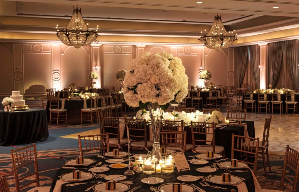 Hydrangea Flower Wedding Centerpieces