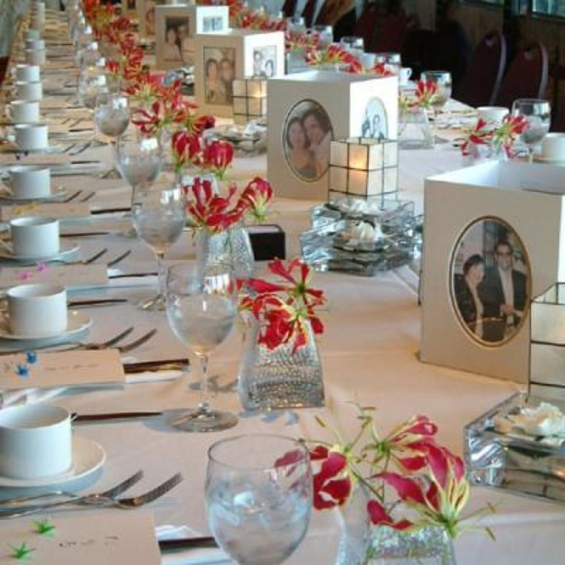 Ideas For Table Decorations Wedding Reception On Decorations With ...