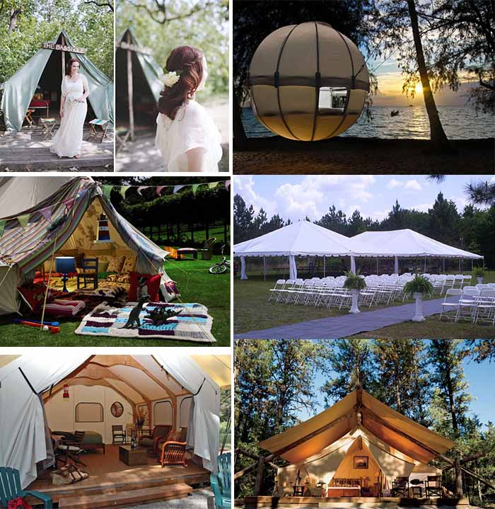 Camping wedding ideas for Outdoor crafts for camping