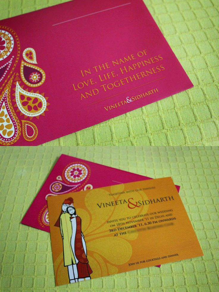 Innovative Indian Wedding Cards Wedding Cards Wedding Ideas And Inspirations