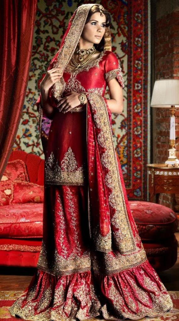 Indian Wedding Outfit For Bride