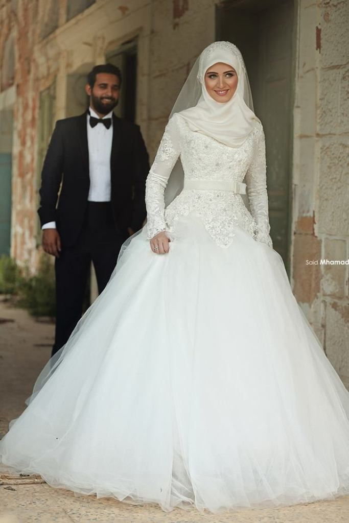 Islamic wedding dresses with hijab emasscraft junglespirit Images