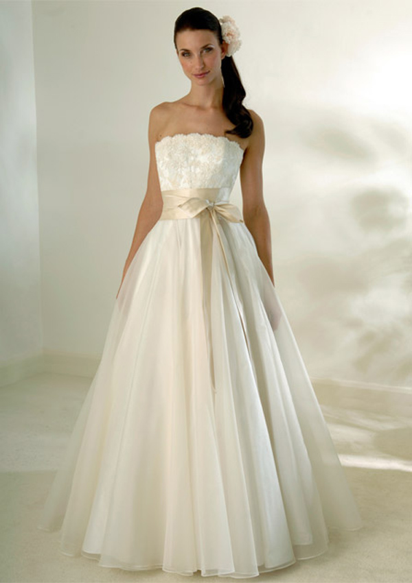 Ivory champagne wedding dress for Ivory champagne wedding dress
