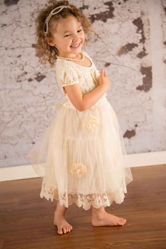 Country Wedding Flower Girl Dresses | Good Dresses