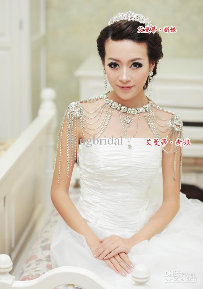 Wedding Dresses With Jewelry : Wedding dress necklace