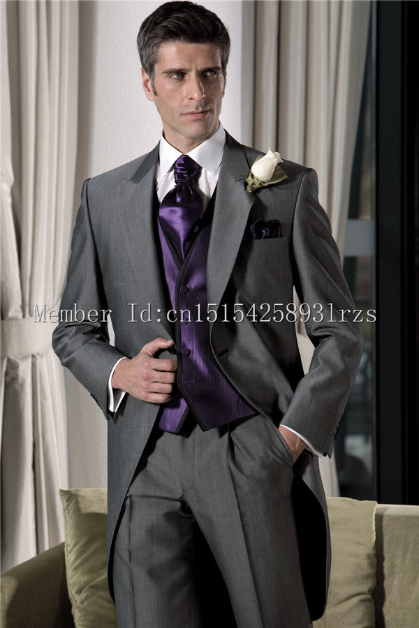 Dark Grey Wedding