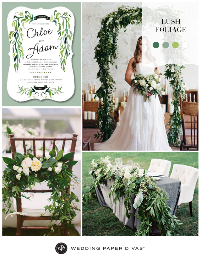 Nature themed wedding decorations junglespirit Image collections