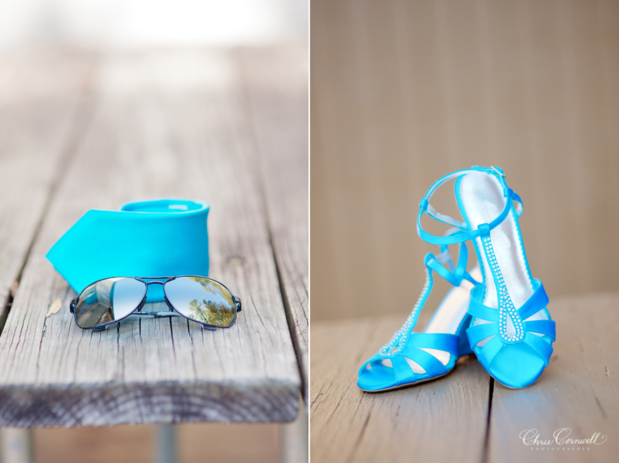Malibu Blue Main Color In Our Wedding