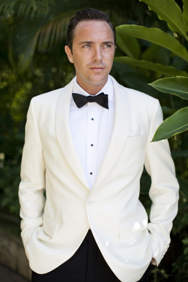 Magnificent White Wedding Suit For Groom Gift Dress Ideas