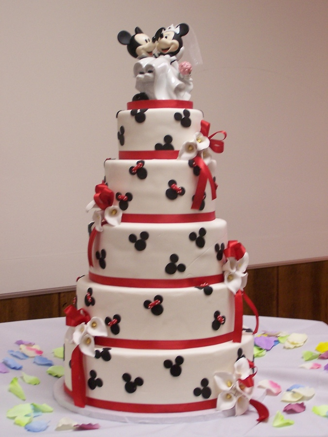 minnie mouse wedding cake toppers mickey minnie wedding 17441