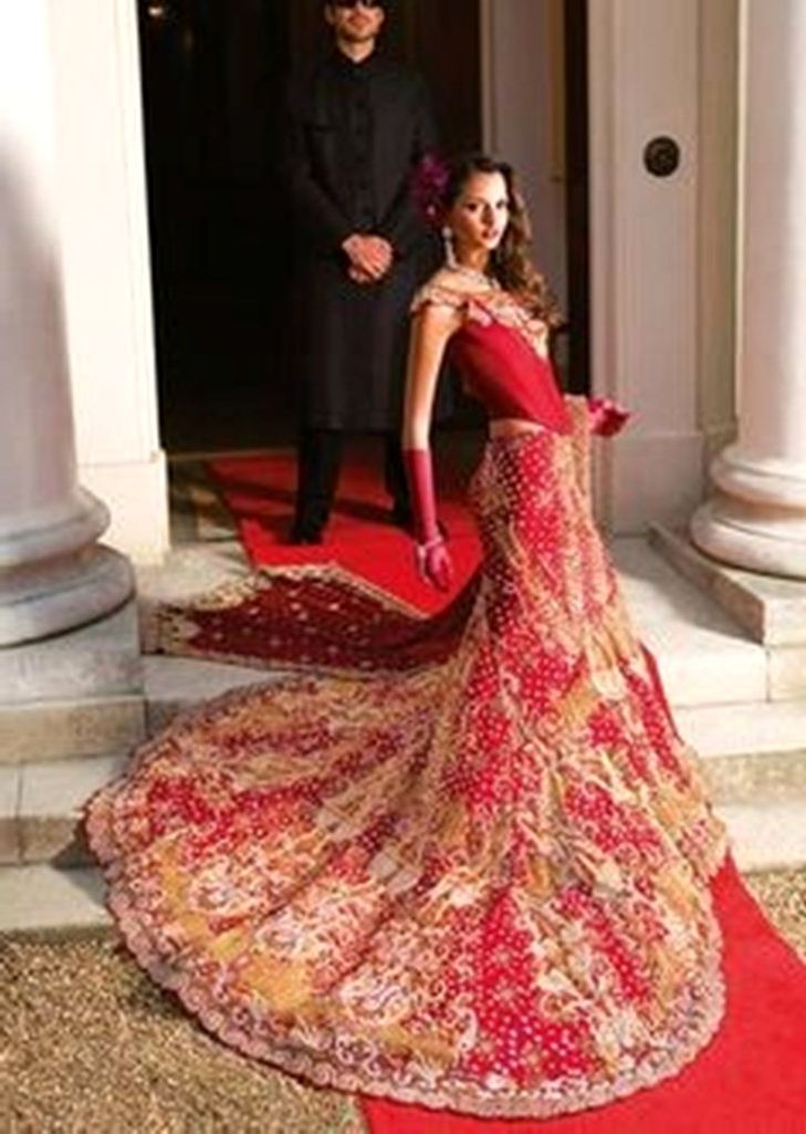 Modern Indian Wedding Dresses 71