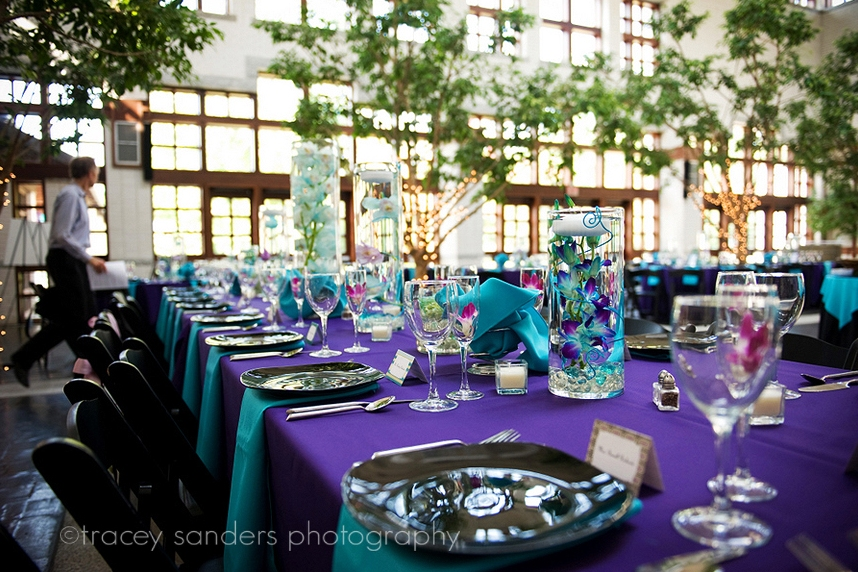 Turquoise And Brown Wedding Decorations Centerpieces Place Source More Than Words Brian Amanda