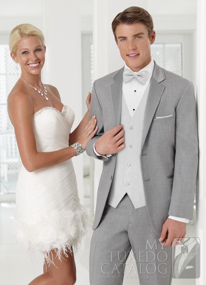Attractive Light Grey Wedding Suits Adornment - Wedding Ideas ...