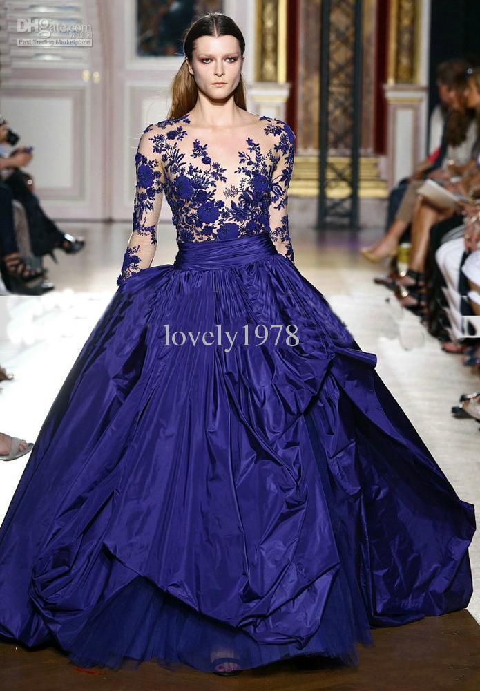 Blue Wedding Gown: Royal Blue Wedding Dress