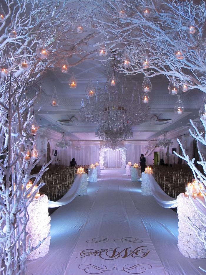 winter wonderland wedding decorations. Black Bedroom Furniture Sets. Home Design Ideas