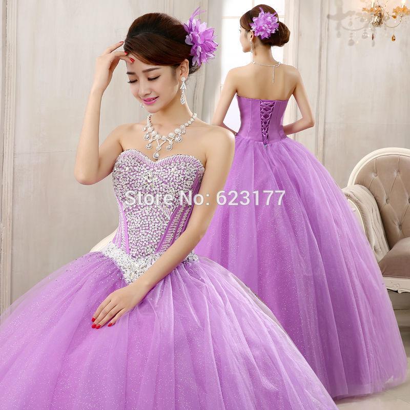 Violet Wedding Dresses