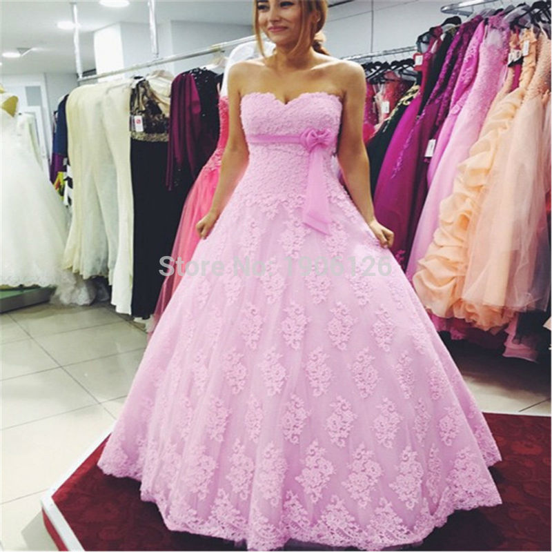 Wedding Gowns In Pink: Hot Pink Wedding Dress