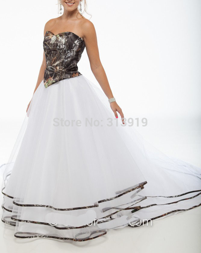 Online Get Mossy Oak Wedding Dresses