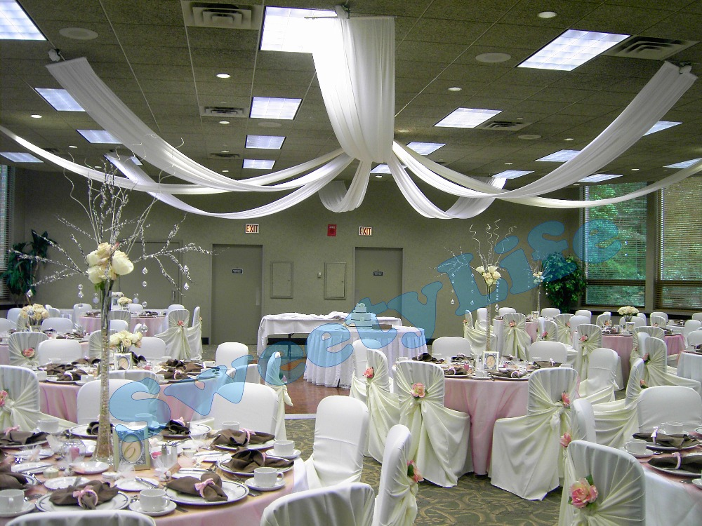 Wedding ceiling draping online get cheap wedding ceiling drapes junglespirit Choice Image