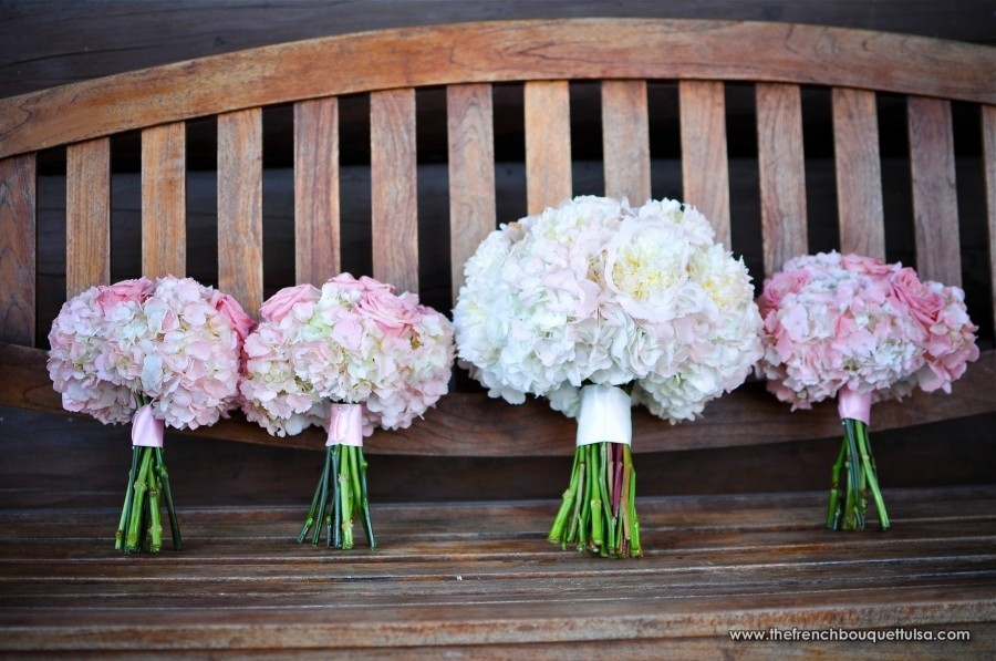 Wedding Bouquets Peonies And Hydrangeas