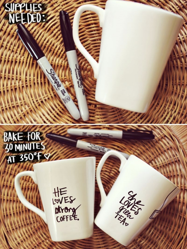 Personalized White Coffee Mug Magnificent Wedding Favor