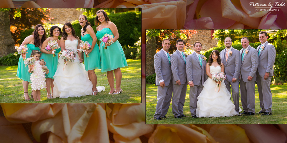 July Color Palette Real Wedding Summer Love Pictures By Todd Photography