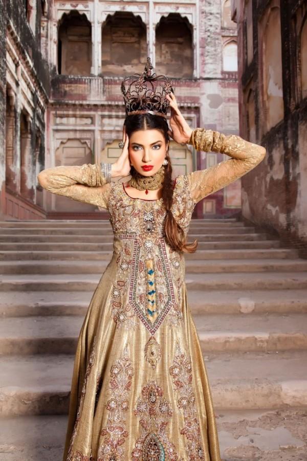 Pink Asian Wedding Dress