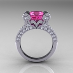 Pink Wedding Rings Pictures
