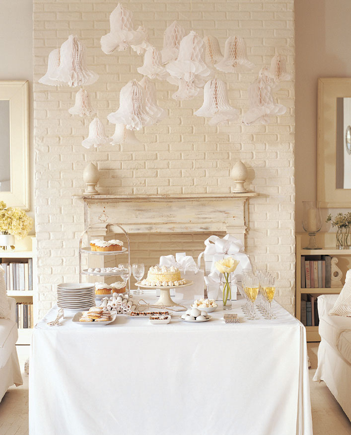 Elegant Wedding Shower Ideas