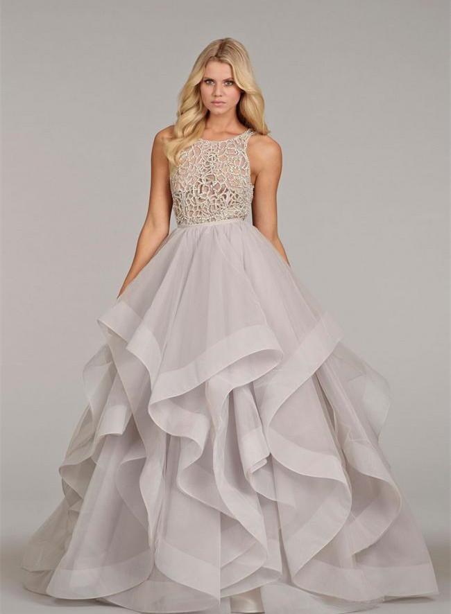 Popular Lavender Wedding Best Gown