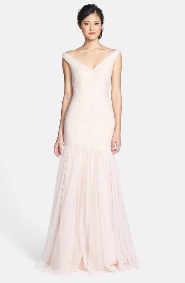 Pale pink wedding dress popular light pink wedding dress junglespirit Gallery
