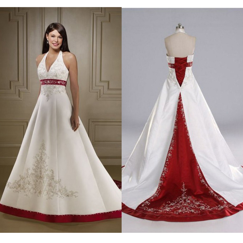 Red And White Wedding Dress.Red Plus Size Wedding Dress Fashion Dresses