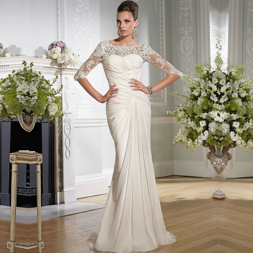 Wedding Dresses Simple: Simple But Elegant Wedding Dress