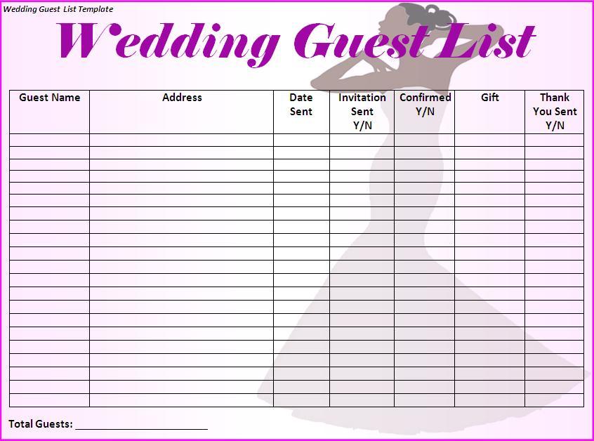 wedding todo checklist excel