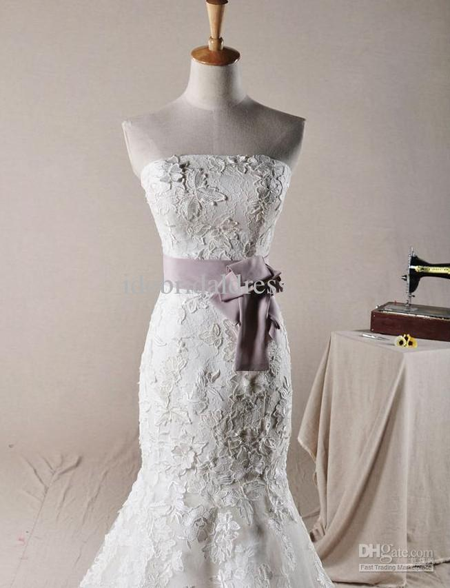 Purple lace wedding dress for Purple lace wedding dress