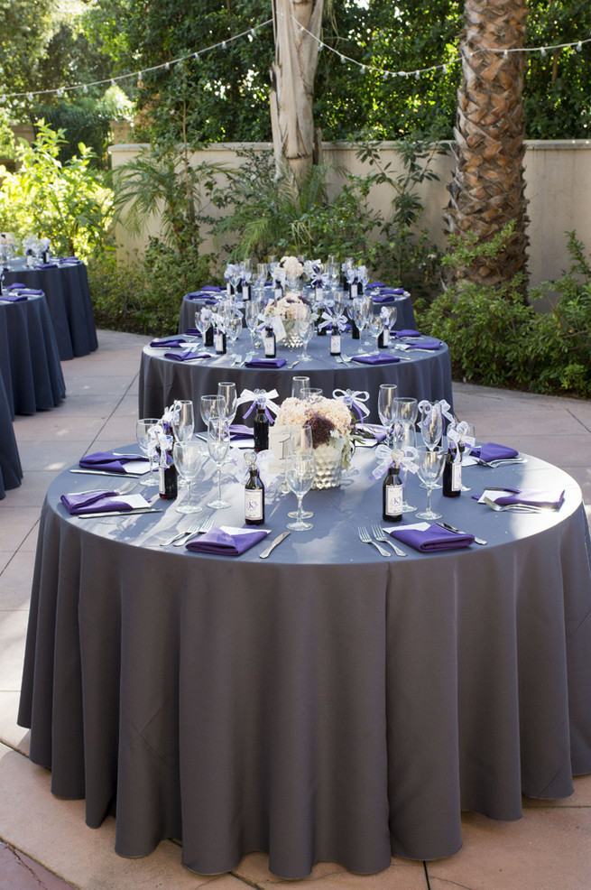 Purple And Gray Diy Wedding Cream Colors Archives