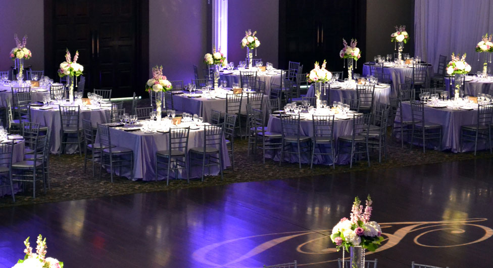 Purple And Black Wedding Reception Images - Wedding Decoration Ideas