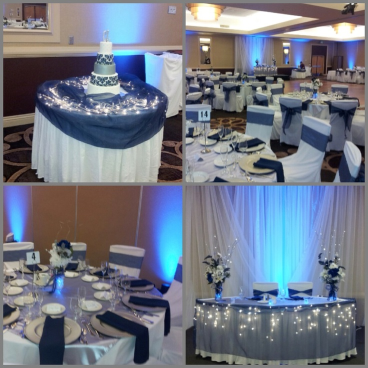 Navy Blue Wedding Ideas Wedding Decor Ideas