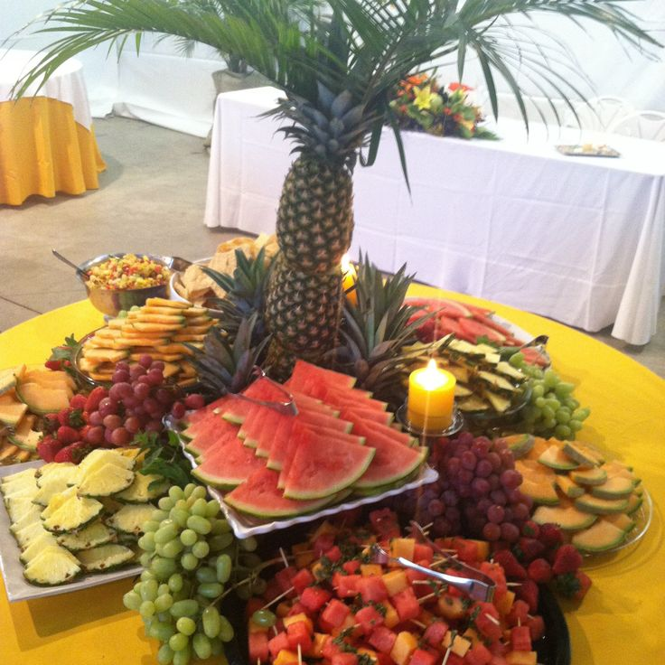 Wedding Reception Food Table Ideas: Fruit Displays For Weddings